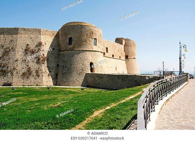 Aragonese castle of Ortona in Abruzzo (Italy)