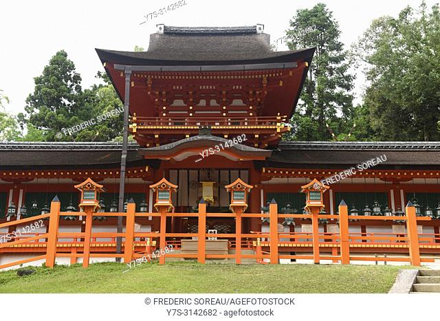 Kasuga Taisha Shrine in Nara,Japan,Asia
