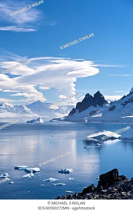 Views of Danco Island, Antarctica Danco Island or Isla Dedo is an island off Antarctica, 1 mile long lying in the southern part of Errera Channel