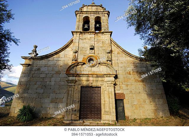 Church of Santa María de Petín, Orense, Spain