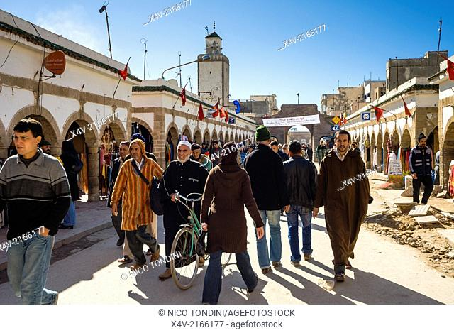 The old city, Essaouira, Morocco, North Africa, Africa