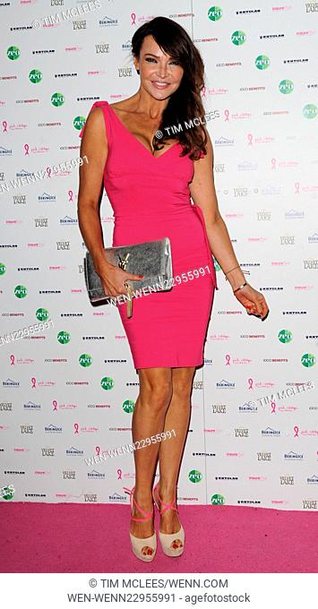 various celebrities attend Pink Ribbon Foundation launch Party Featuring: Lizzie cundy Where: London, United Kingdom When: 29 Sep 2015 Credit: Tim McLees/WENN