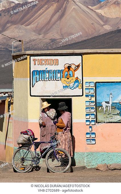 Sajama Shop. Sajama National Park. Oruro Departament. Bolivia