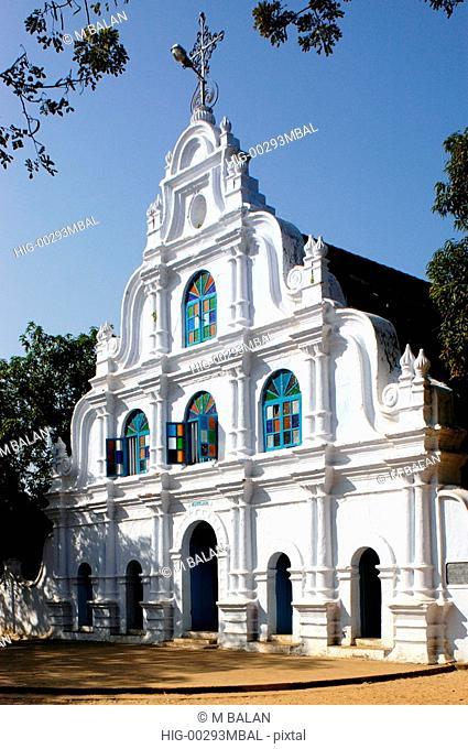 OLD CHRISTIAN CHURCH NEAR KUMBALANGHI, KOCHI