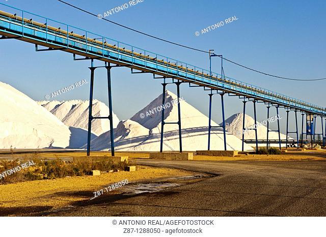 Saltworks, Salinas de Santa Pola, Alicante, Spain