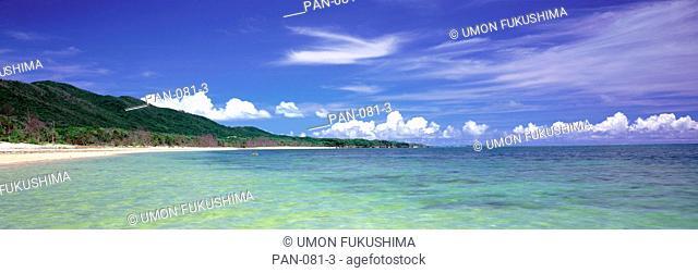 Seacoast, Haemita, Iriomote Island, Okinawa, Japan