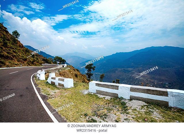 Road to Spiti Valley, Himachal Pradesh, India