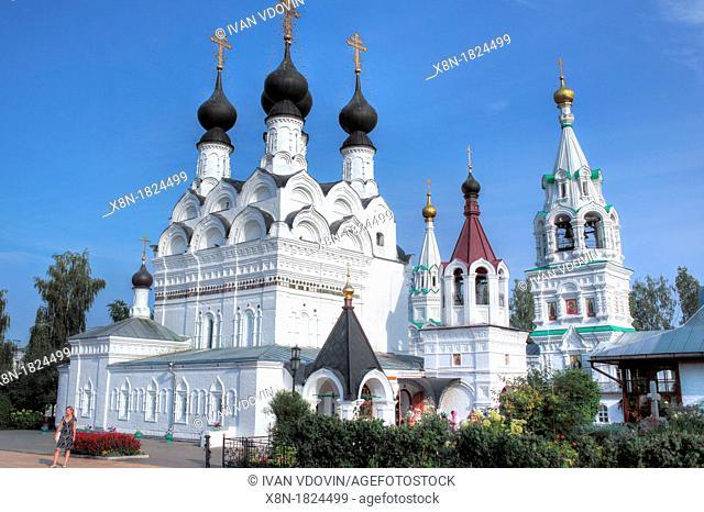 Holy Trinity cathedral 1643, Trinity monastery, Murom, Vladimir region, Russia