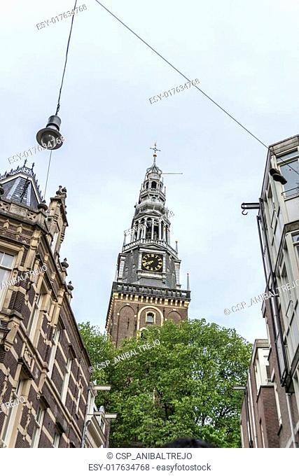 Oude Kerk (Old Church) in Amsterdam, Netherlands