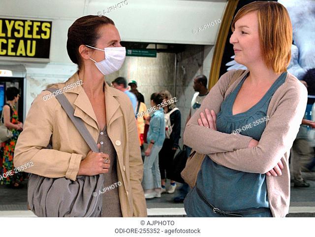 Women metro protection mask