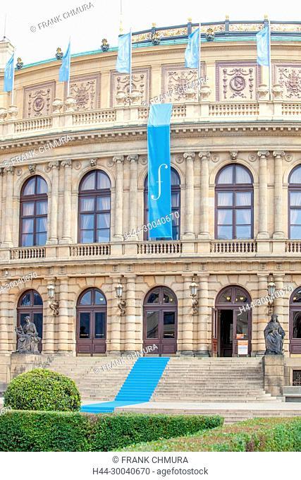 Prague - Rudolfinum Concert Hall during Prague Spring Festival