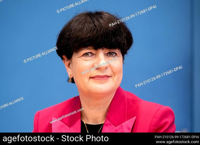 26 January 2021, Berlin: Christine Aschenberg-Dugnus, health policy spokeswoman of the FDP parliamentary group in the Bundestag