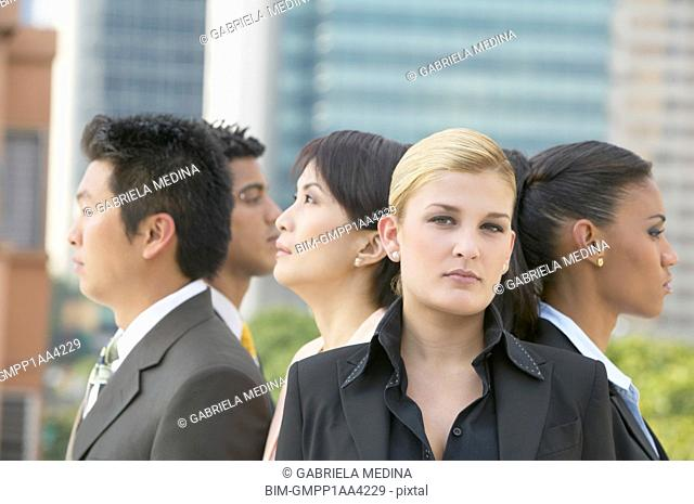 Group of multi-ethnic businesspeople