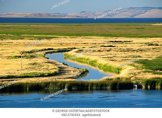 Headquarters Pond to Malheur Lake, Malheur National Wildlife Refuge, Oregon