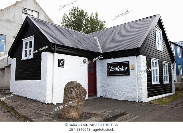 Stodlakot is Reykjavik's oldest stone farm-house. Built in 1872, it's one of few remaining houses of the architectural style, Reykjavik, Iceland