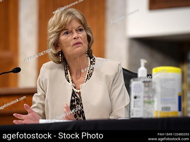United States Senator Lisa Murkowski (Republican of Alaska), of the Senate Health, Education, Labor and Pensions (HELP) Committee