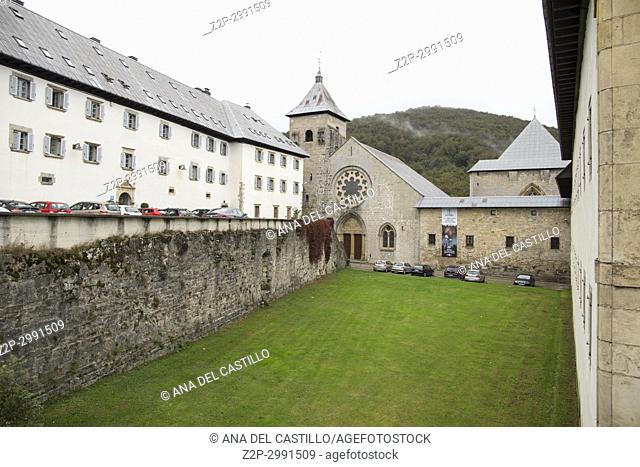 Royal Collegiate Church of Roncesvalles Navarre Spain St James way