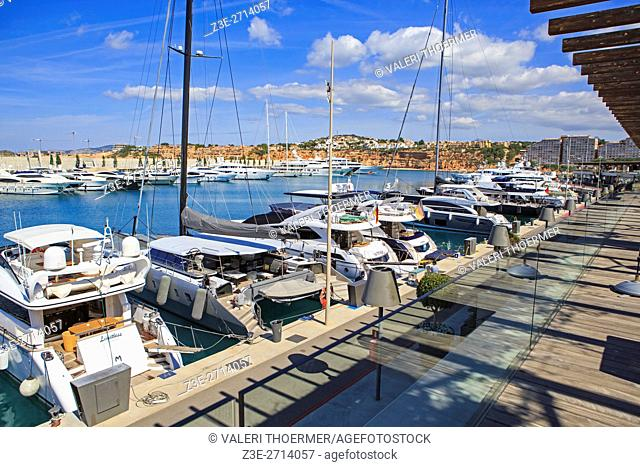 PORT ADRIANO, MALLORCA, SPAIN: The Port Adriano at Et Toro on Mallorca Island, Spain