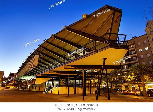 Canodrom, by Antoni Bonet and Josep Puig. 1964. Actually is Parc de Recerca Creativa. Barcelona