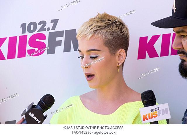 Katy Perry attends 102.7 KIIS FM's Wango Tango 2017 at StubHub Center on May 14, 2017 in Carson, California