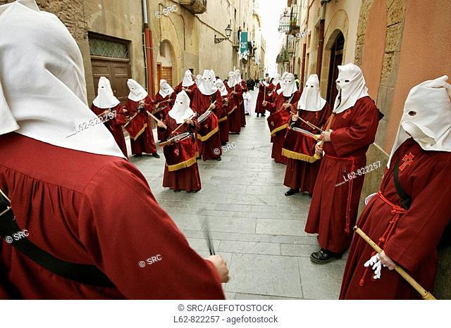 Good Friday procession, Tarragona, Catalonia, Spain