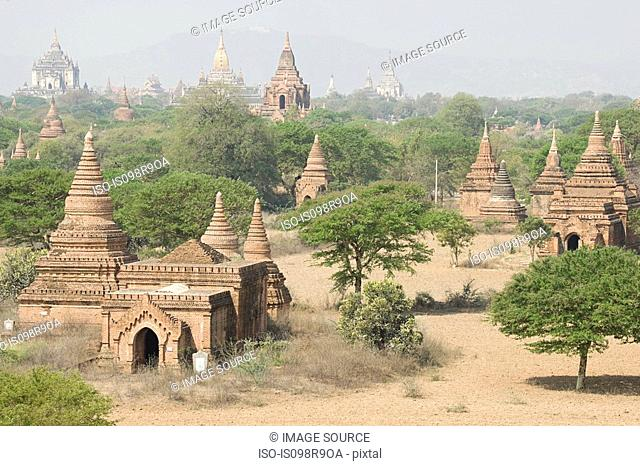 Ancient city of bagan in burma