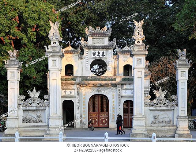 Vietnam, Hanoi, Quan Thanh Temple,