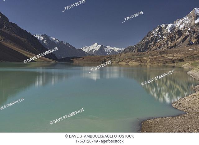 Beautiful Khafrazdara Lake, Tajik National Park, Tajikistan