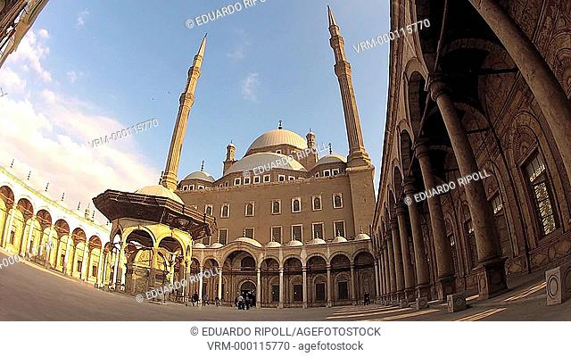 Mohamed Ali Mosque, at Citadel, Cairo , Egypt