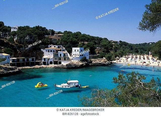 View of Cala Santanyi, Majorca, Balearic Islands, Spain, Europe