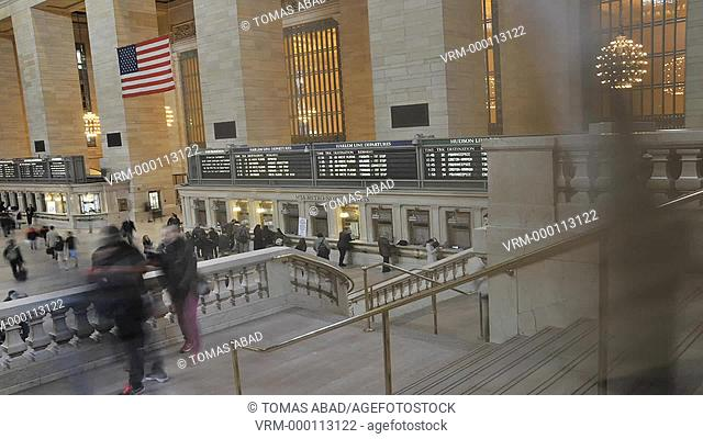 42 nd Street, Grand Central Terminal, Grand Hall, Manhattan, New York City, USA