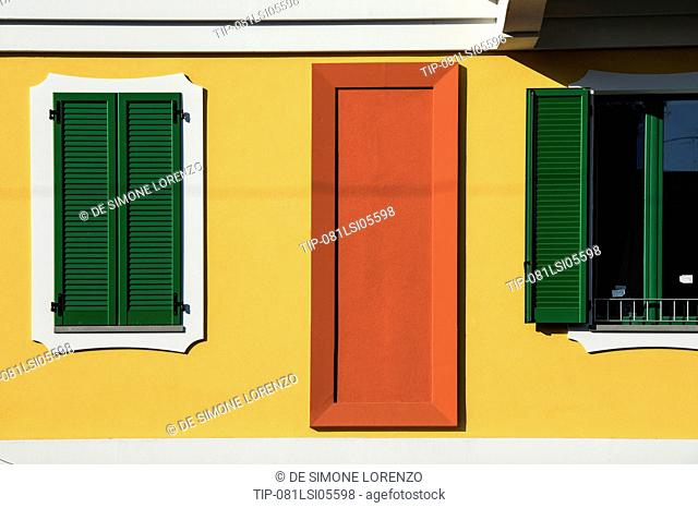 Italy, Lombardy, Milan, new houses in Corso Buenos Aires