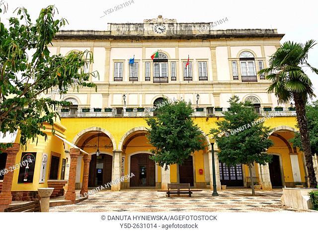 Câmara Municipal de Silves, Largo do Município, Town hall of Silves, old town of Silves city, Algarve, Portugal, Europe
