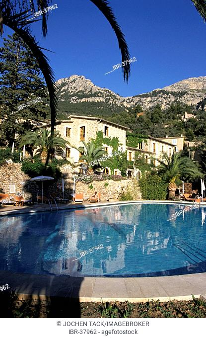 ESP, Spain, Balearic Islands, Mallorca : the La Residencia hotel in Deja