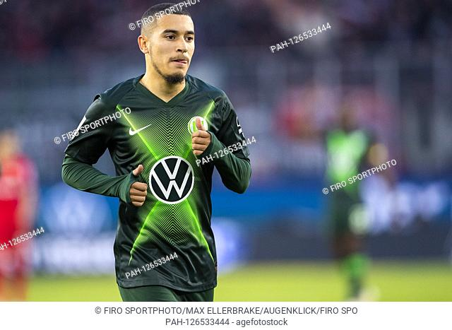 firo: 10.11.2019, Fuvuball, 1.Bundesliga, season 2019/2020, VfL Wolfsburg - Bayer 04 Leverkusen William (VfL Wolfsburg) Portrait facial expressions | usage...