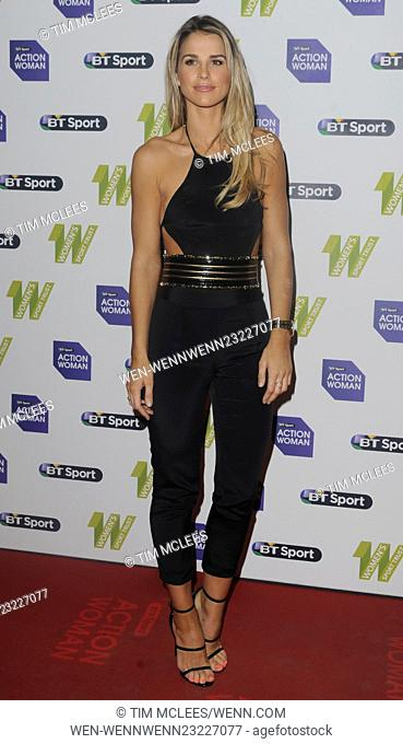 2015 BT Sport Action Woman Awards - Arrivals Featuring: Vogue Williams Where: London, United Kingdom When: 01 Dec 2015 Credit: Tim McLees/WENN.com