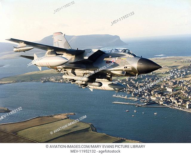 An RAF Panavia Tornado Ids Gr-1
