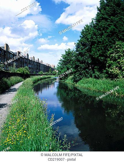 Union Canal. Edinburgh. Scotland