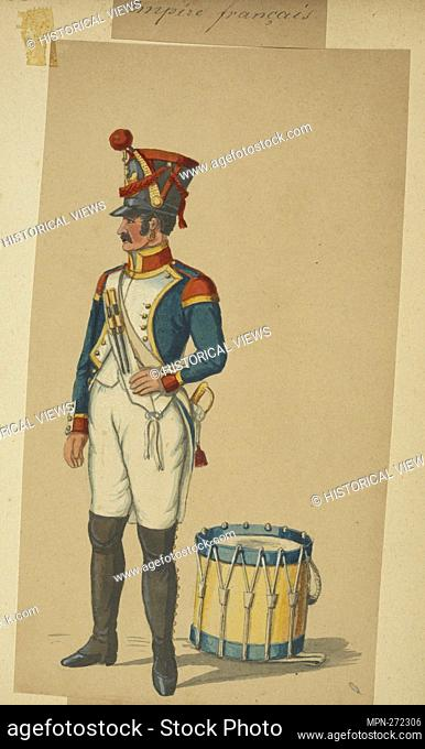 France, 1811. Vinkhuijzen, Hendrik Jacobus (Collector). The Vinkhuijzen collection of military uniforms France France, 1811