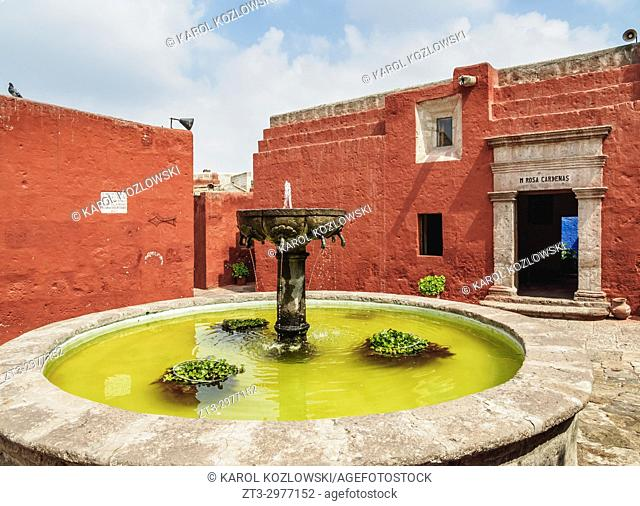Zocodober Square, Santa Catalina Monastery, Arequipa, Peru