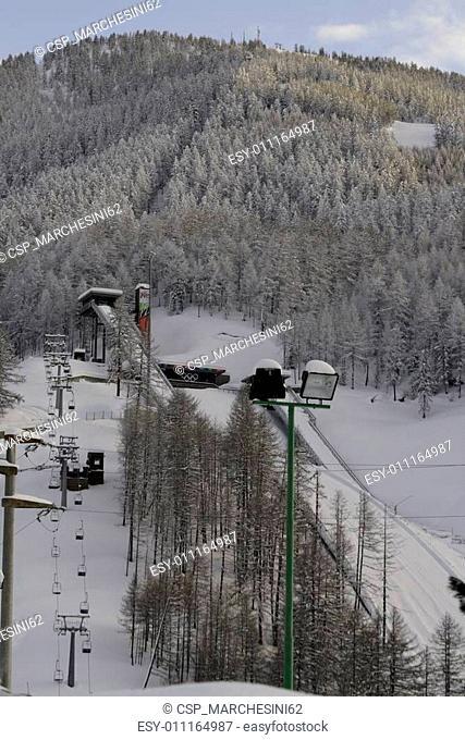 springboard for ski jumping