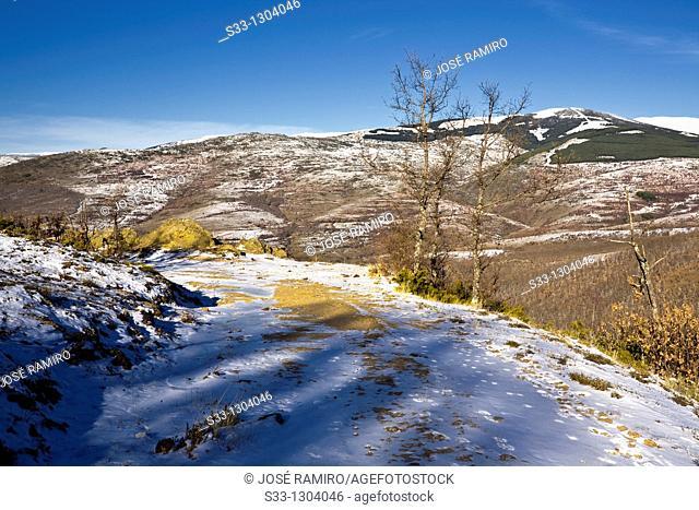 The Tejera hill in the Sierra Norte Madrid Spain