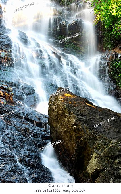 Waterfall near Montville, Sunshine Coast Hinterlands in Queensland