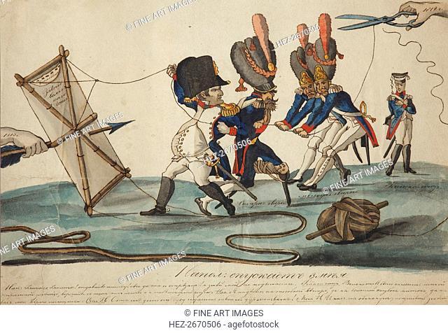 Napoleon Flying Kite, 1813
