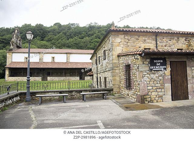Santuario de Nuestra Señora de Valvanuz sanctuary in Selaya village Cantabria valley Spain