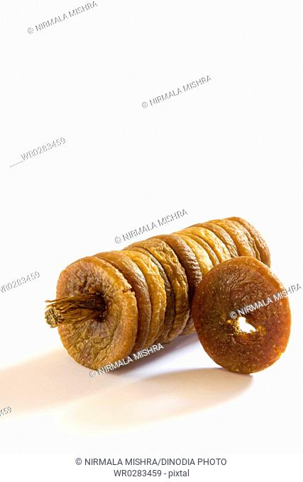 Dry Fruits , Anjir Fig on white background