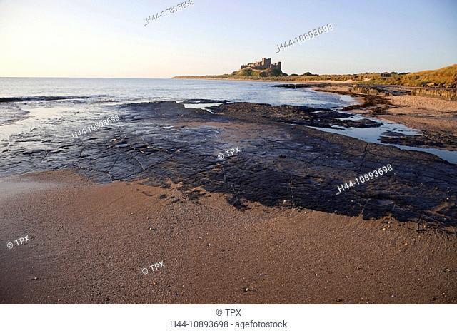 UK, United Kingdom, Great Britain, Britain, England, Northumberland, Northumbria, Bamburgh, Bamburgh Castle, Castle, Castles, Northumberland Coast, Coast