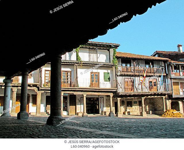 La Alberca. Salamanca province, Spain