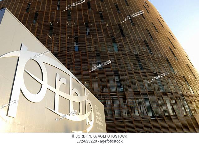 Barcelona Biomedical Research Park (PRBB). Port Olímpic. Barcelona. Spain