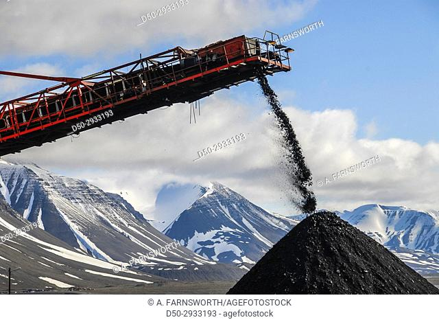 SVALBARD NORWAY At 78 degrees latitude, Svea is the world's northernmost coalmine and the only one in Scandinavia. . . Located 1